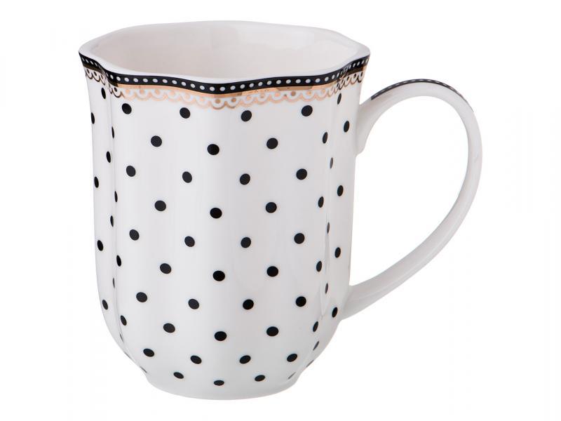 Mug Lefard, 350 ml, with polka dot