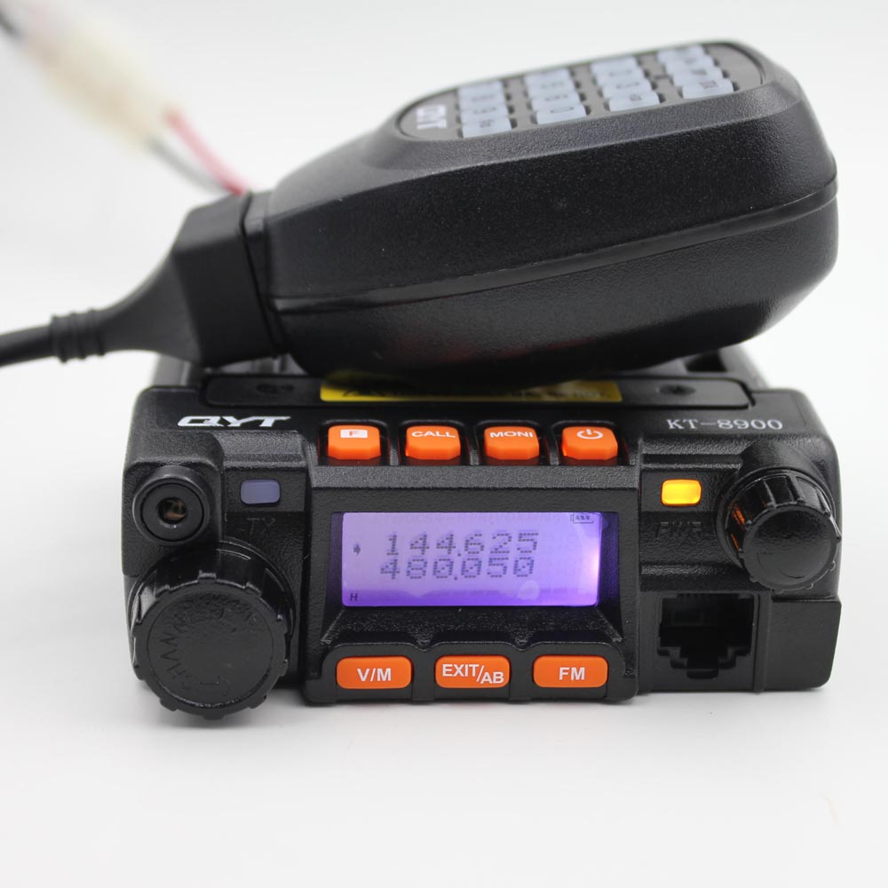 QYT KT8900 KT-8900 mini cb radio Transceiver dual car mobile radio 136-174&400-480MHz high quanlity two way radio walkie talkieQYT KT8900 KT-8900 mini cb radio Transceiver dual car mobile radio 136-174&400-480MHz high quanlity two way radio walkie talkie