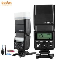 Godox Mini lampa błyskowa TT350C TT350N TT350S TT350F TT350O lampa błyskowa TTL HSS GN36 do aparatu Canon Nikon Sony Fuji Olympus DSLR