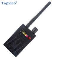Topvico полный спектр про Анти-шпион ошибка детектора Беспроводной Камера Скрытая сигнала gps РФ GSM устройств Finder защитить конфиденциальность б...