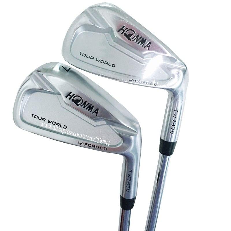 New Men Golf Clubs HONMA TW737V Golf Irons 4-910 Clubs Irons Set Steel Shaft R Or S Flex Golf Shaft Cooyute Free Shipping