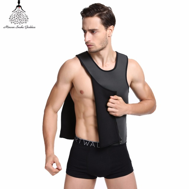 44fa52aaf8 Slimming Vest Neoprene Shaper Men Slimming Belt Body Shaper Corset Posture  Waist Trainer Trainer Corsets Sportes Hot Shapers