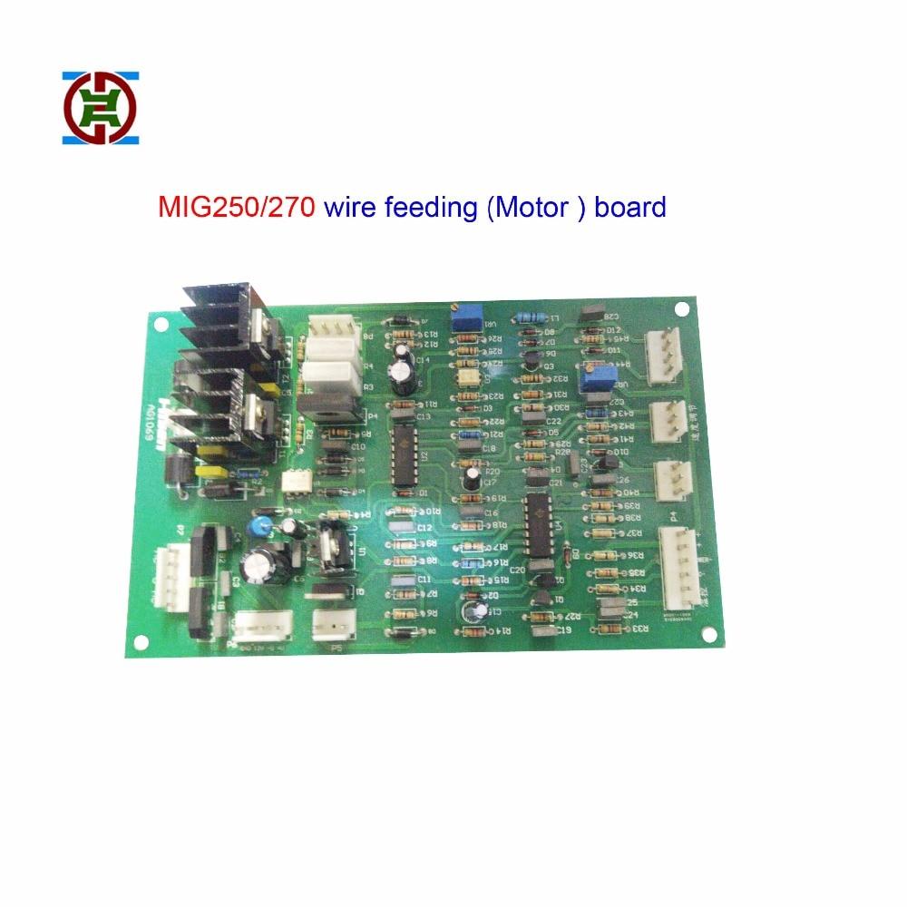 Mig 250 270 Wire Feeding Motor Control Circuit Board For Jasic Gas Shielded Welding Machine Butt Welders Aliexpress