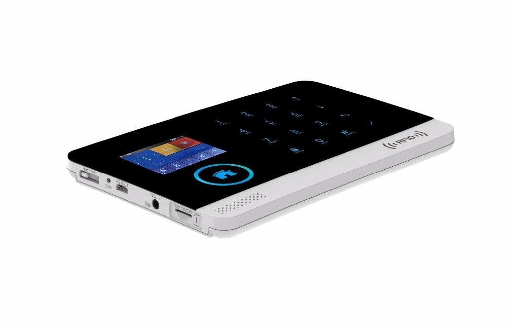 Smartyiba WI-FI gsm Защита от взлома Системы IOS приложение для Android Управление Солнечный Мощность Siren пожарный Сенсор французский русский польский г...
