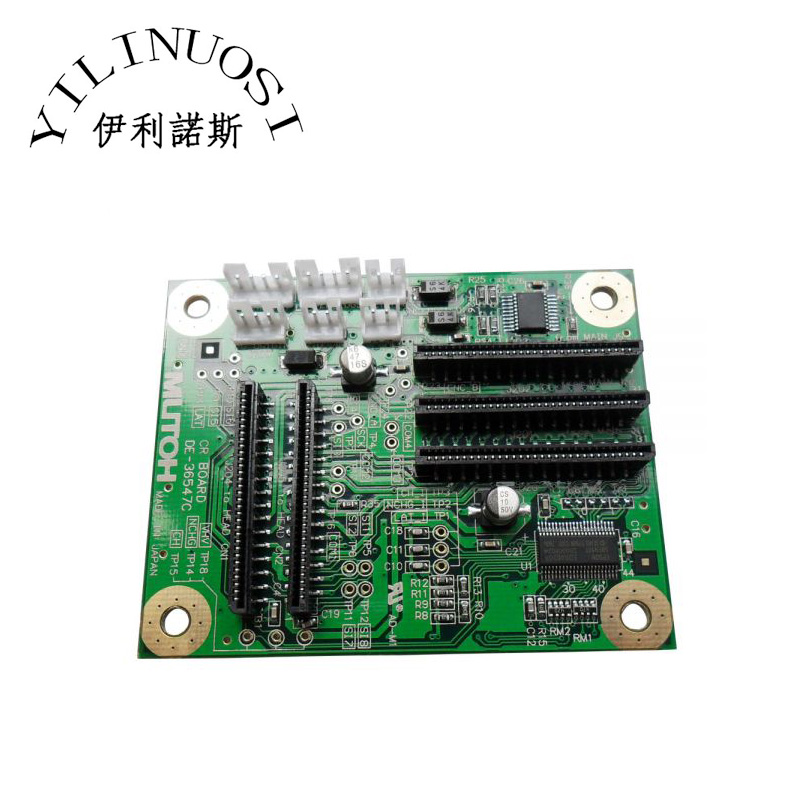 Original Mutoh VJ-1204 / VJ-1604 / VJ-1304 / RJ-900C CR Board printer parts mutoh cr motor for rj 900c rj 1300 vj 1204 vj 1304