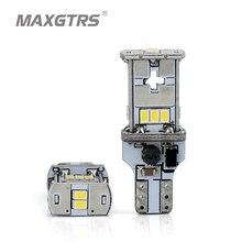 MAXGTRS 2x новое обновление очень яркий T15 W16W Canbus SMD3020 912 921 белый 4300 К автомобиля светодиодный Резервное копирование свет Auto Обратный лампа