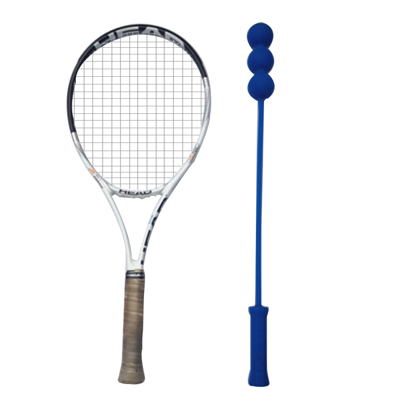 Tennis Training Whip Practice Swing Trainer With Balls Tenis Accessories Children One Woman Two Men Three Ball