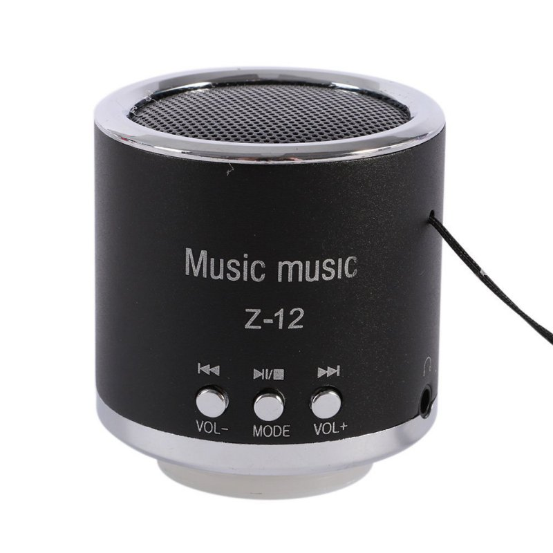 M J New FM Radio Z12 Portable Speaker USB Micro SD TF Card Mp3 Mini Speaker