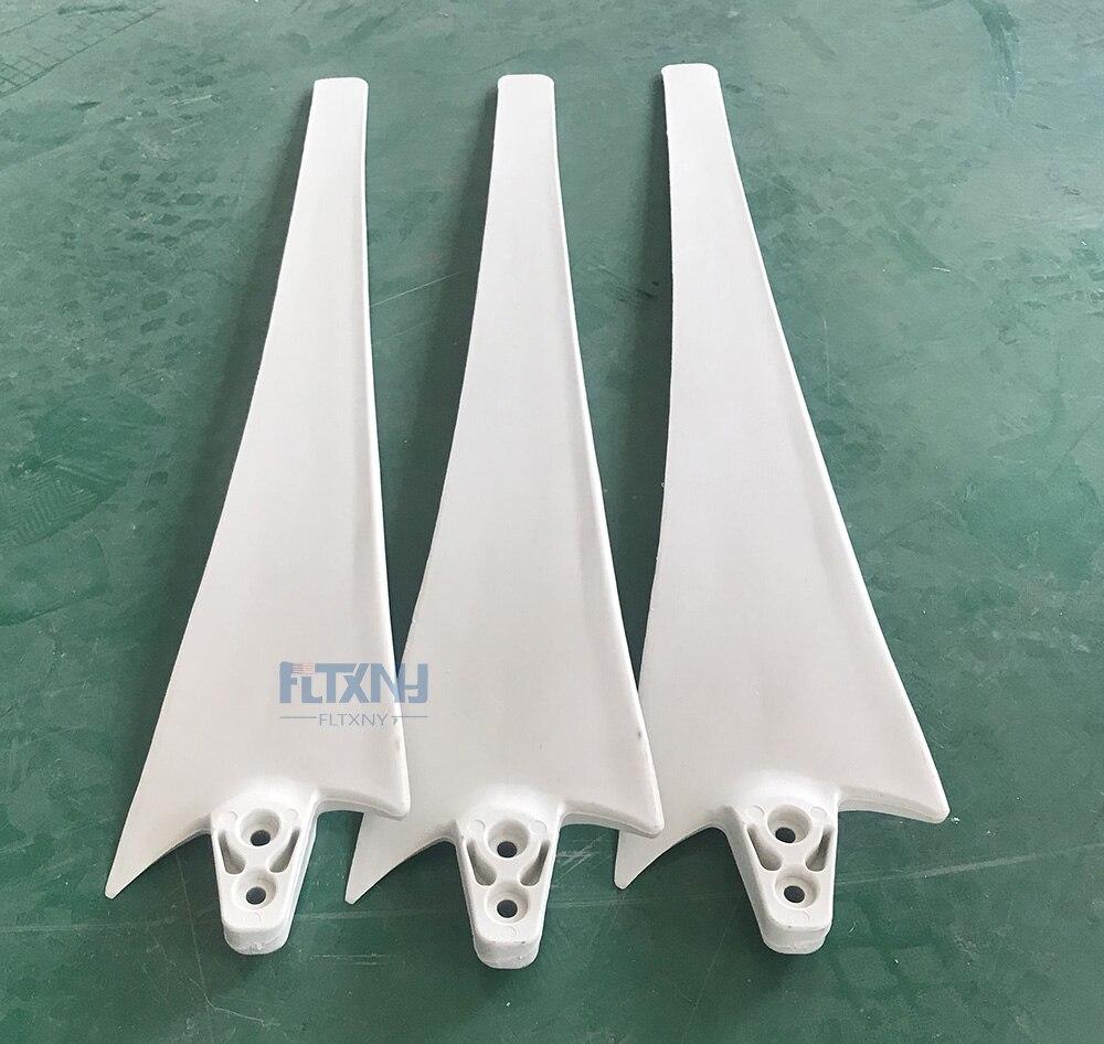 laminas de diy fabrica enviado gerador horizontal laminas de turbina de 100 w 200 w 300