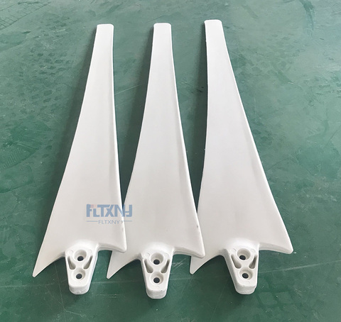 laminas de diy fabrica enviado gerador horizontal laminas de turbina de 100 w 200 w