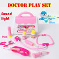 Doctor toys Box Kids Pretend Play Toys Set  Medicine Box Role Play  medico Classic Toy doctor kit Educationl toys for children