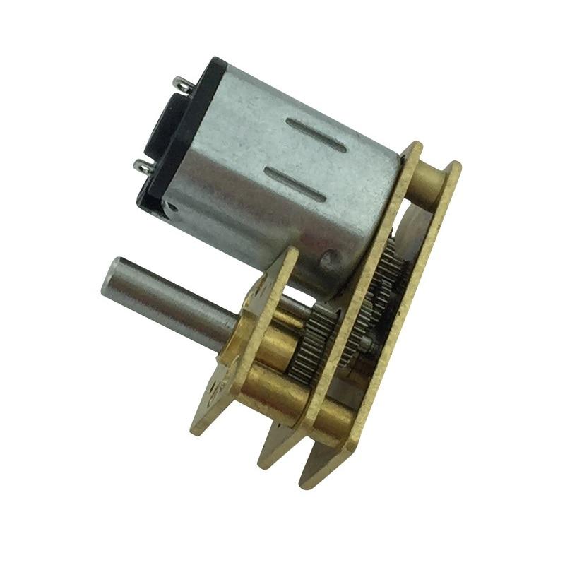 JGA1024-N20 miniature DC gear motor DC motor Reciprocating motor 3V6V12V DC motor Electric machinery n20 dc gear motor miniature high torque electric gear box motor
