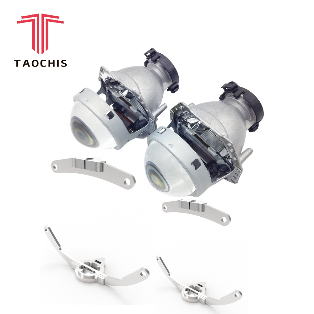 TAOCHIS Car Styling frame adapter Hella 3r G5 Projector lens retrofit for INFINITI QX80 2013 - 2014