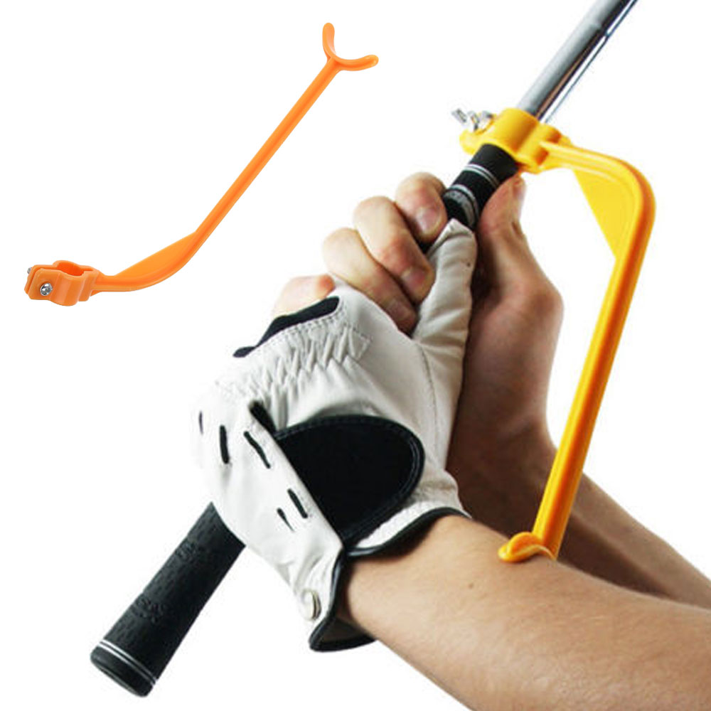 Practical Practicing Guide Golf Swing Trainer Golf Correct Wrist Training Aids Swing Trainer Gesture Alignment Training Aid