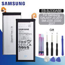 Original Battery For SAMSUNG J330 EB-BJ330ABE 2400mAh Samsung Galaxy J3 2017 J3300 J330F SM-J3 Pro Replacement Phone