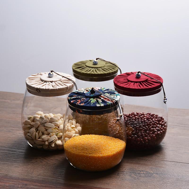 ELETON Kork Glas Teekanne Deckel versiegelte Flasche kreative - Home Storage und Organisation - Foto 4