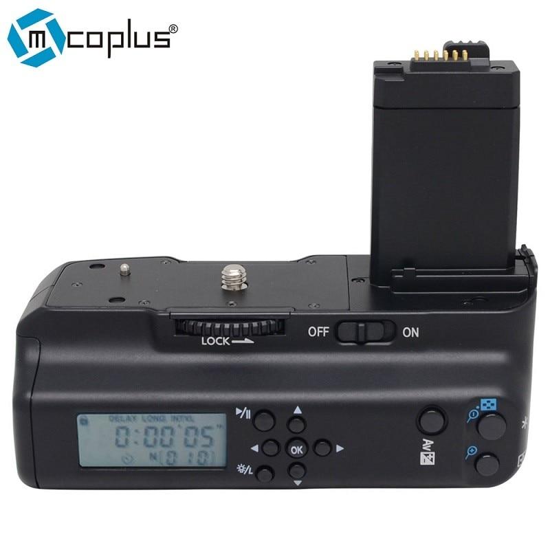 Mcoplus MeiKe LCD Battery Grip Holder per Canon EOS Fotocamera Digitale Rebel T1i 450D 500D 1000D BG-E5Mcoplus MeiKe LCD Battery Grip Holder per Canon EOS Fotocamera Digitale Rebel T1i 450D 500D 1000D BG-E5