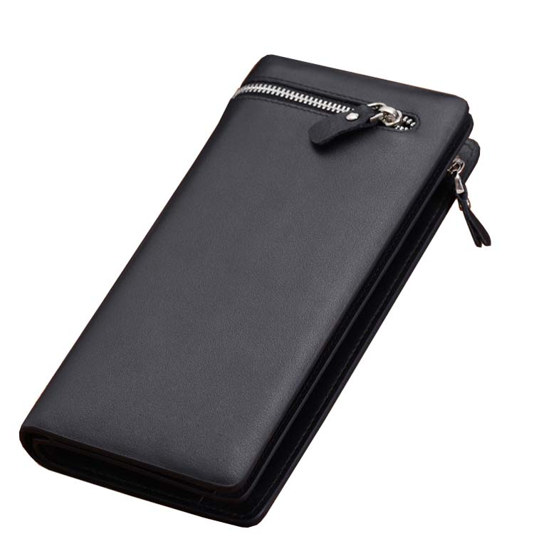 Brand Genuine pu Leather Men Wallets Business Card holder Coin Purse ...