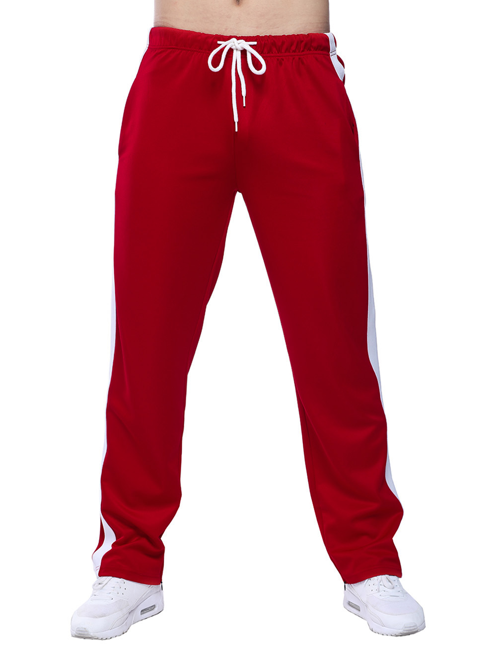 Brand Men Pants casual Harem Pants 2017 Male Trousers Mens loose striped Pants Sweatpants Large size 2XL