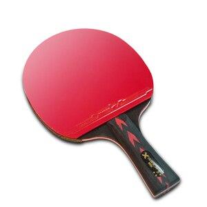 Image 4 - HUIESON 5/6 gwiazda 2 sztuk węgla rakieta do tenisa stołowego zestaw Super potężny rakietka do ping ponga Bat dla dorosłych klub szkolenia nowy ulepszony