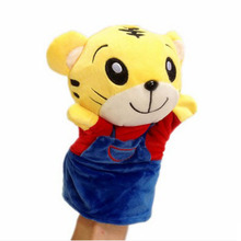 Little Tiger Delicate Baby Child Zoo Farm Animal Hand Glove Puppet Finger Sack Plush Toy  baby toys  animal hand puppets