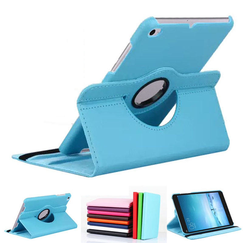 Rotary 360 Degree Rotating Litchi Folio Stand PU Leather Skin Cover Case For Xiaomi Mipad 2 3 Mi Pad 2 3Gen Mi Pad3 7.9