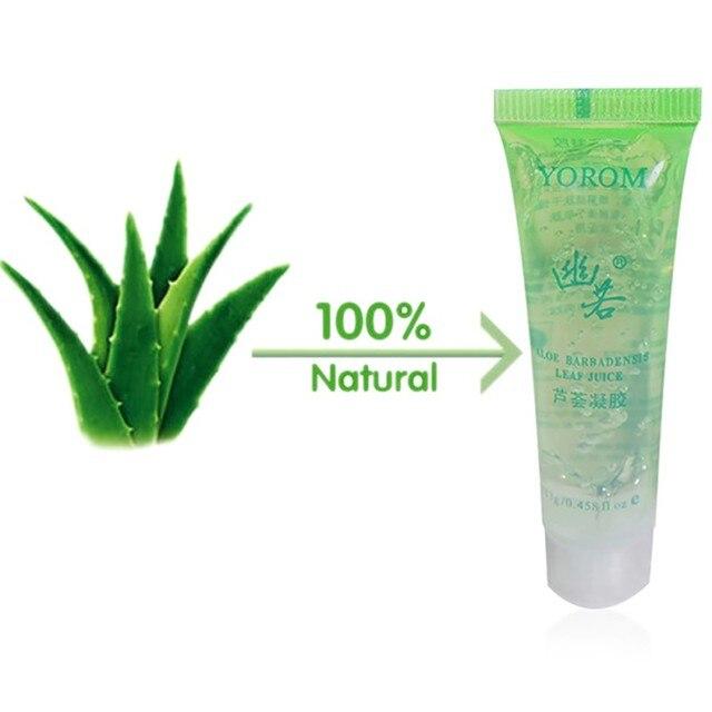 100% Gel de Aloe Vera antiespinillas hidratante antiinflamatorio para reparar el cuidado de la piel