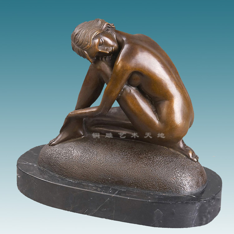 The human body art bronze statue nude decoration works of art jewelry business gifts hotel bedroom furnishingsThe human body art bronze statue nude decoration works of art jewelry business gifts hotel bedroom furnishings