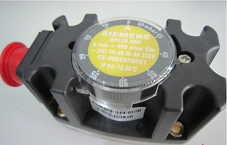 Pressure Controller Gas Pressure Switch QPL25.050 For Burner New Original