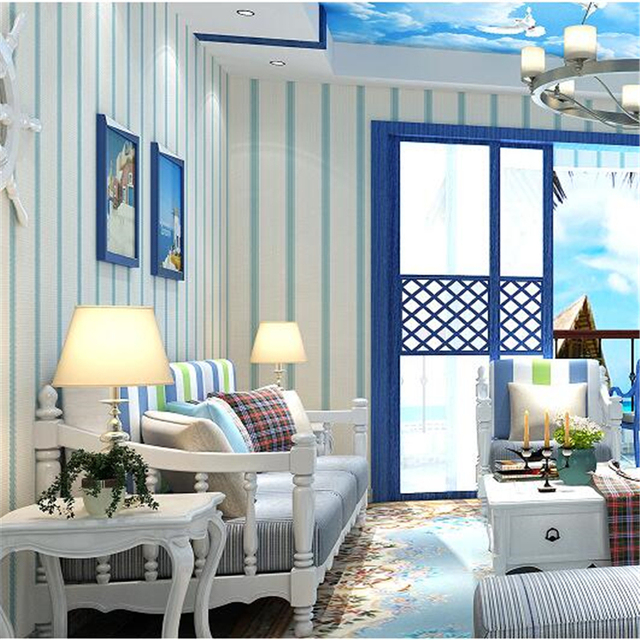 korean bedroom simple pink modern living princess stripe non beibehang zoom woven mouse wallpapers