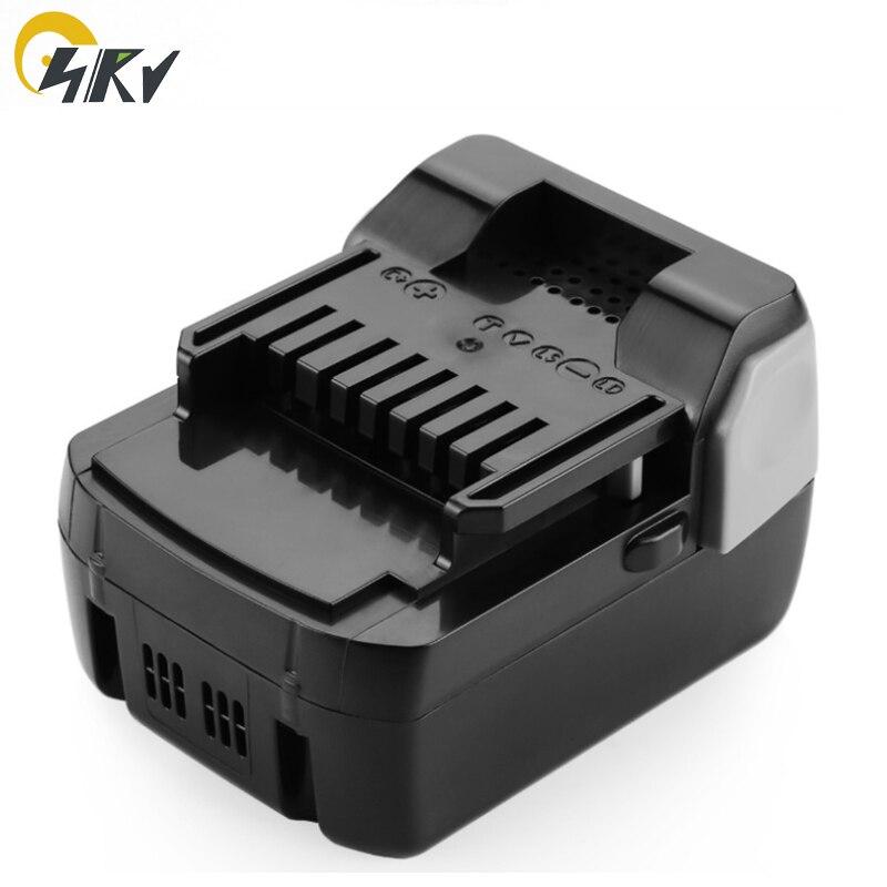 Batterie d'outil électrique Li-ion 18 V 4Ah pour perceuse Hitachi BSL1815X BSL1830 DS 18DSL, DV 18DSL, WH 18DSL