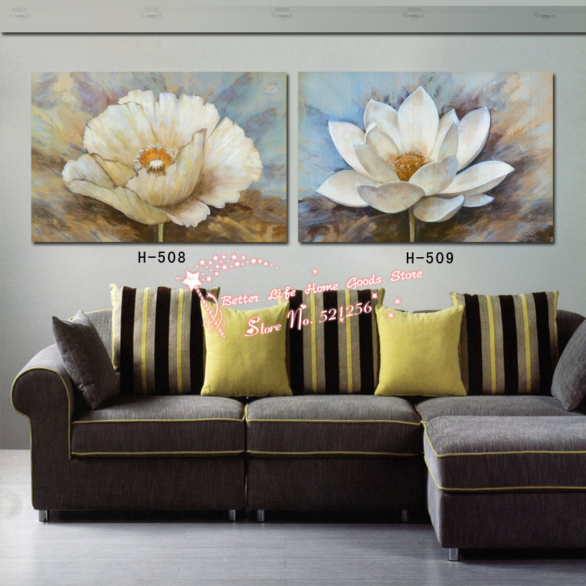 Modern Wall Art Home Decoration Printed Oil Painting Pictures 2 Piece