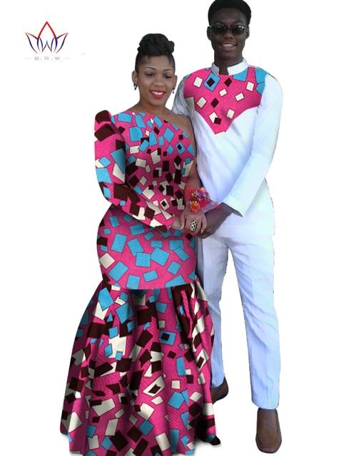 a6b1886939 Roupas para Os Amantes do Casal Roupas Dashiki africano para a mulher femme  Vestidos Maxi Vestido