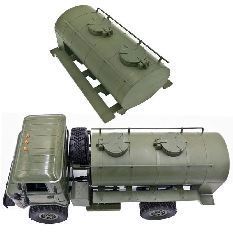 WPL Remote Control Remodel Accessory Simulation Train Oil Transport Tank Car Tanker Truck Model For B24, B16, B36