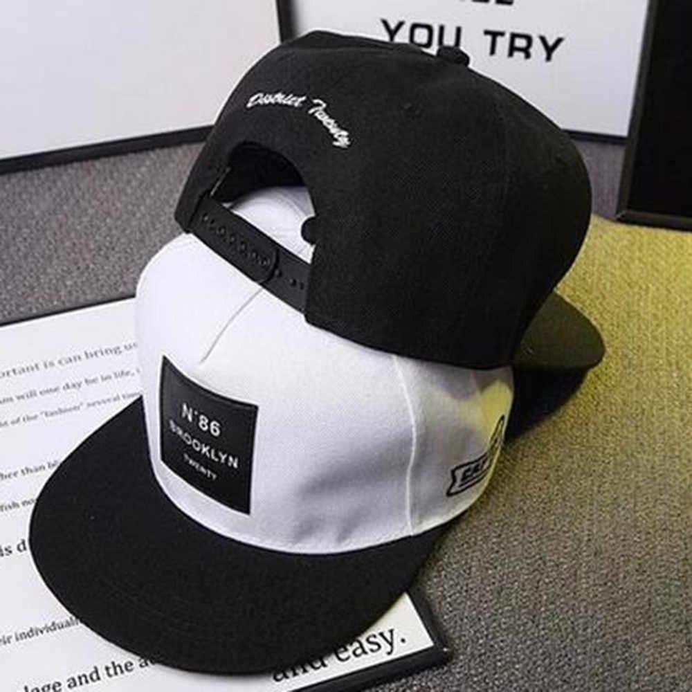 Nuevo sombrero de moda Unisex hombres mujeres Bboy Hip Hop ajustable béisbol Snapback gorra regalo tenis feminino pompom0.8