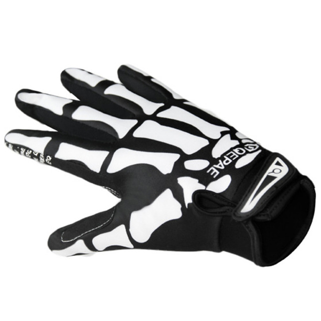 Bicycle Breathable Sport Skull Cycling Gloves