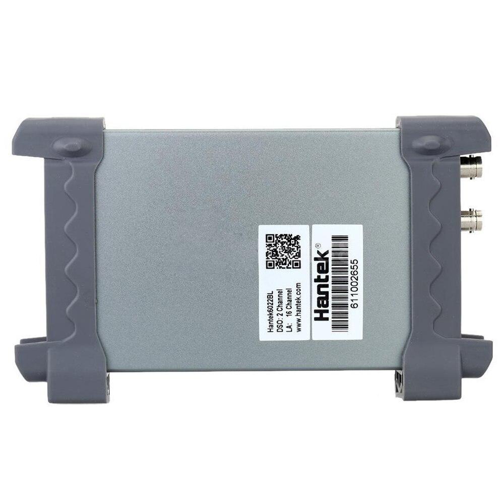 Фото Hantek 6022BL PC Digital Portable Oscilloscope Based USB + Logic Analyzer 16CHs