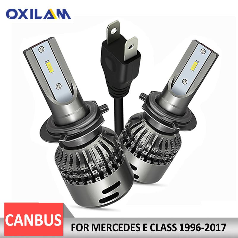 oxilam 2x h7 canbus car led headlight 48w 9000lm headlamp. Black Bedroom Furniture Sets. Home Design Ideas