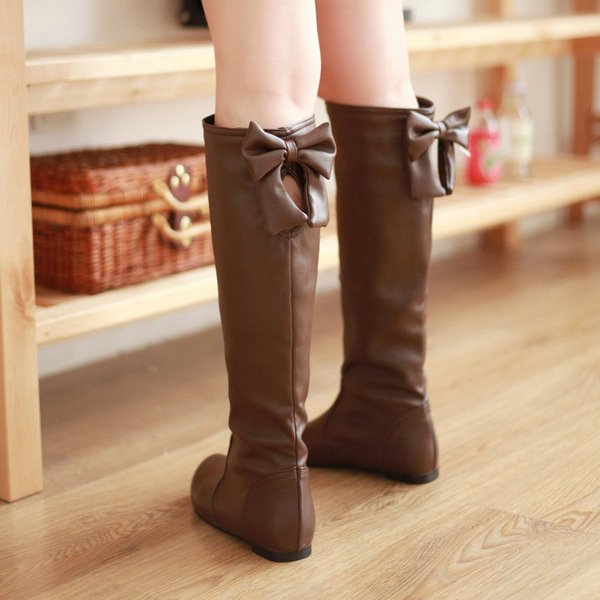 Aliexpress.com : Buy Eu34 43, New Fashion Thicken Warm Low Heel ...