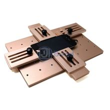 Aluminium alloy Universal phone LCD OCA Laminate Fixed mold Replace LCD UV Glue Mold Mould  LCD Screen Jig Holder Clamp tool