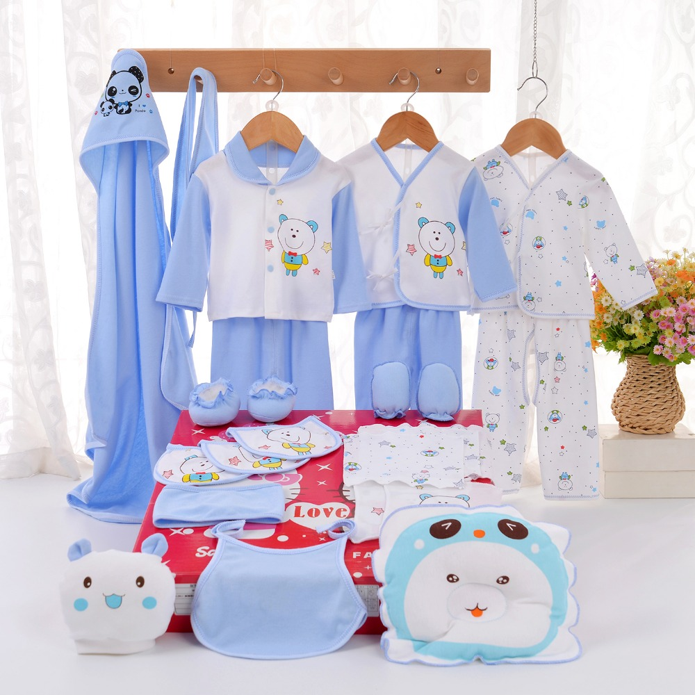 24PCS/Gift /Set New Style Baby Cotton Clothing Set /Newborn Hot Sales Gift /Infant Cute Clothes / Free Shipping