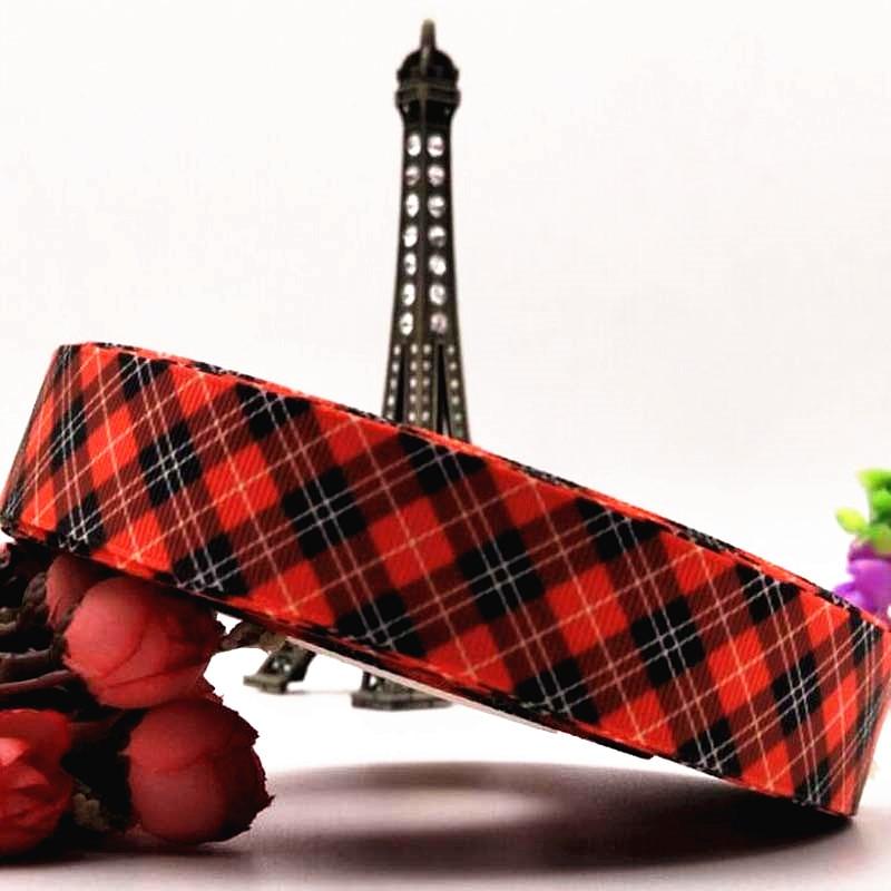 Aliexpress.com : Buy 25mm new plaid ribbon DIY gift bow ...