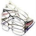 Очки Аксессуары Оптом (10 шт./лот) óculos де грау женщины 32 Rinestones Высший Сорт Очки Рамки для Женщин