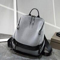 Fashion Women Backpack High Quality Youth Backpacks for Teenage Girls Female School Shoulder Bag Bagpack Female Mesh Mochila