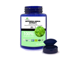 Image 3 - Natural  Artemisia Annua Extract  20:1  100pcs /bottle 100%  Artemisia Annua Extract 20:1
