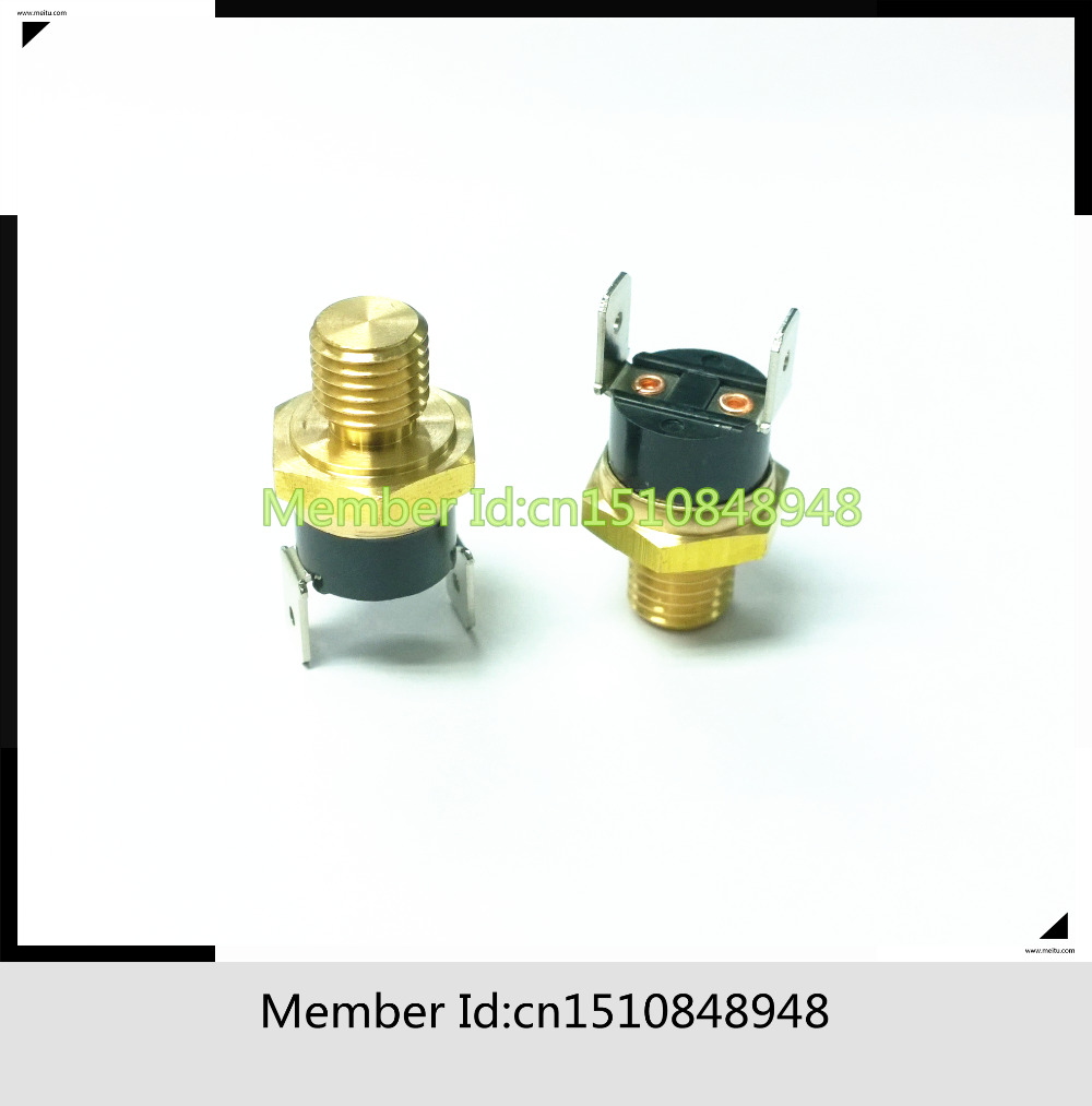 KSD301 gilt head thermostat 10MM  M10 1CM 40-150C N/C