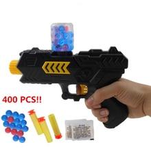 Пистолет Пистолет Мягкой Пулей и шарик Воды пистолет CS Игры, игрушки Воды кристалл 2 в 1 Air soft пистолет игрушка мальчика Пневматическое Оружие Пейнтбольный маркер пистолет
