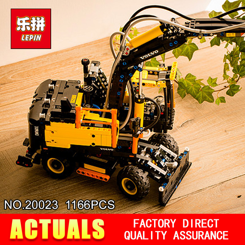 2017 New LEPIN 20023 Excavator toy 1166Pcs Building blocks toys for children gift model 42053