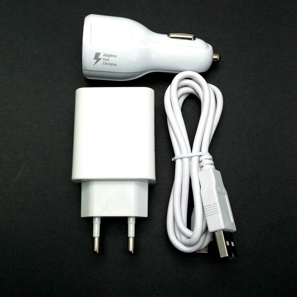 2.4a ЕС Путешествие стены адаптер 2 выход USB + кабель USB + Автомобильное зарядное устройство для CoolPad/<font><b>LeEco</b></font> Прохладный смены <font><b>s1</b></font> Мобильный телефон 5.5 &#8230;