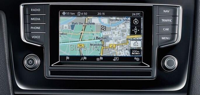 VW GOLF MK 7 Discover Media Pro Navigation System Discover